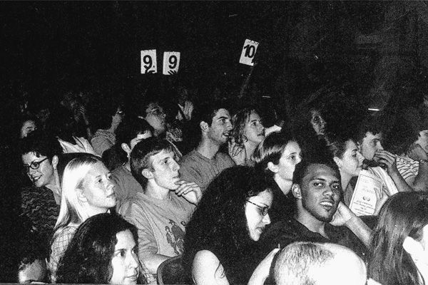 Peter of the Earth in the 2000 National Slam audience